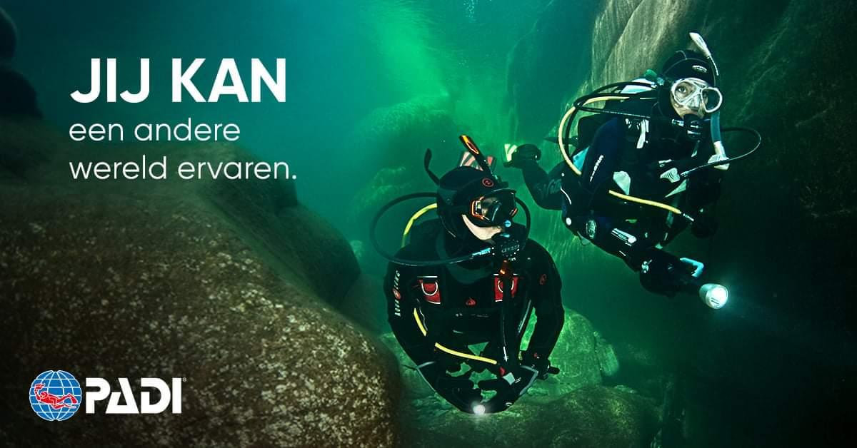 Haal je PADI Open Water Diver brevet