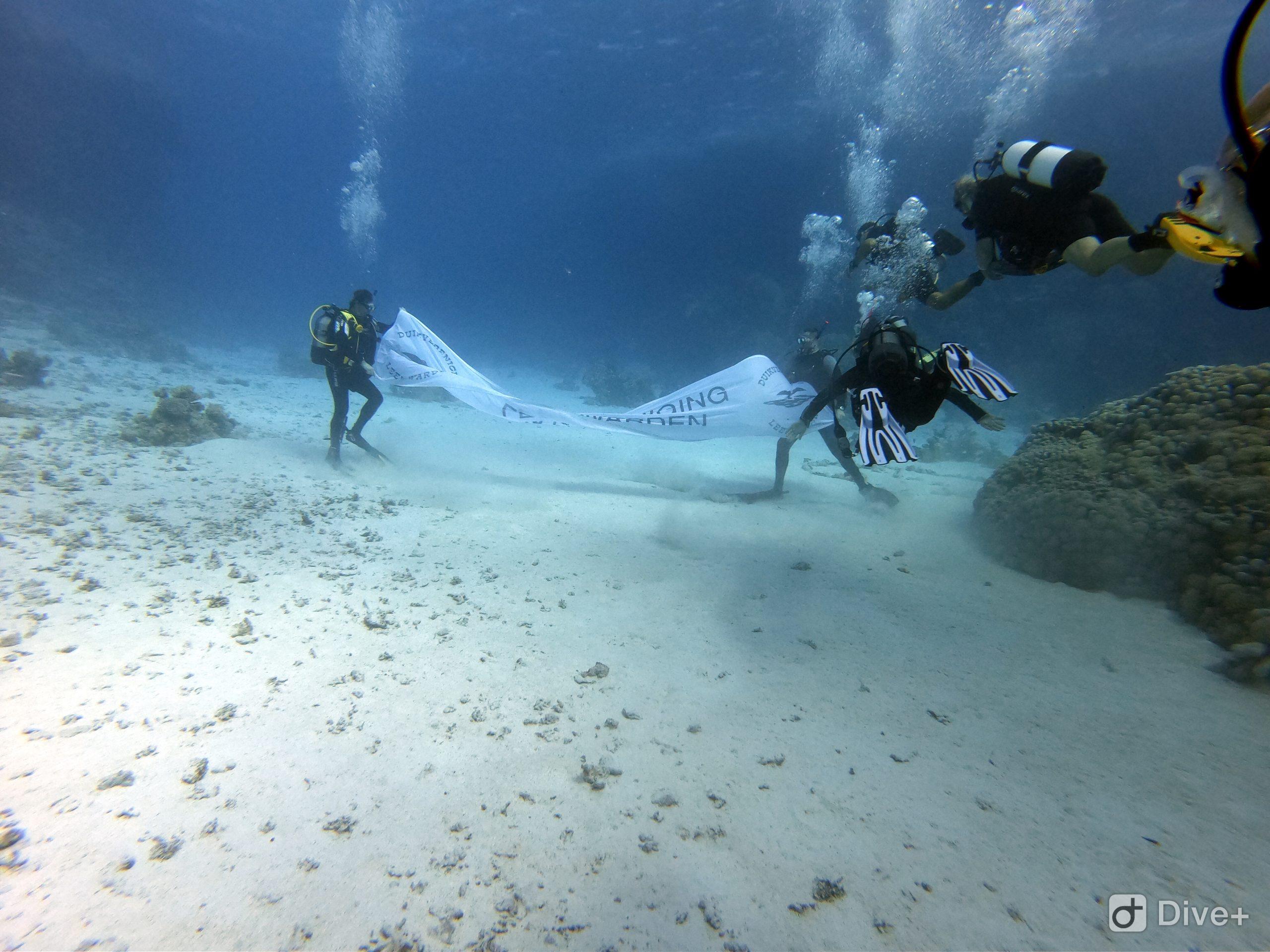 Voorlopig geen recreatieve duiken meer te maken