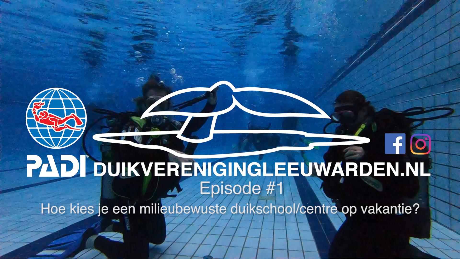 Hoe kies je een milieubewuste duikschool/centre voor je duikvakantie?